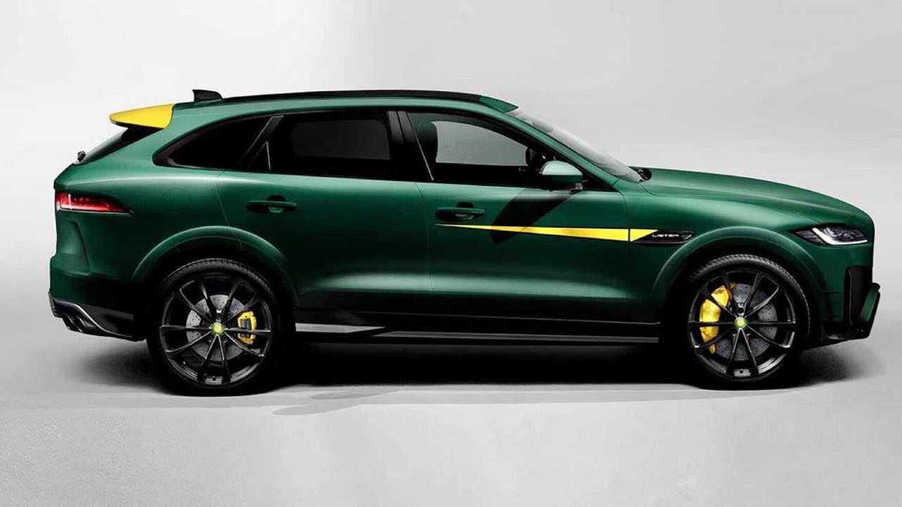 Jaguar F-Pace par Lister