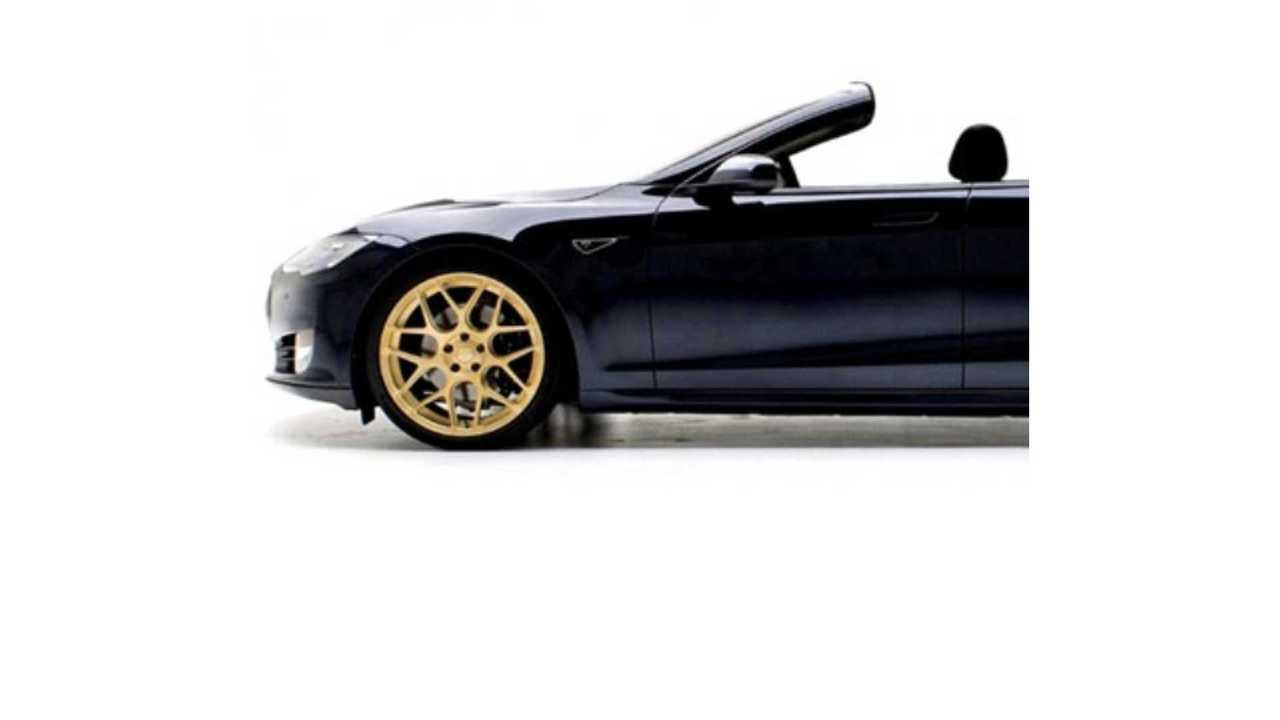Tesla Model S Convertible - 100 Confirmed Orders - 5,000 Model S EVs Requested
