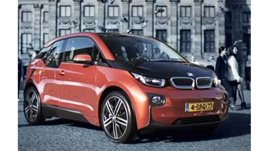 BMW i3 Sales Exceeded 2,000 Units In Q1 2014