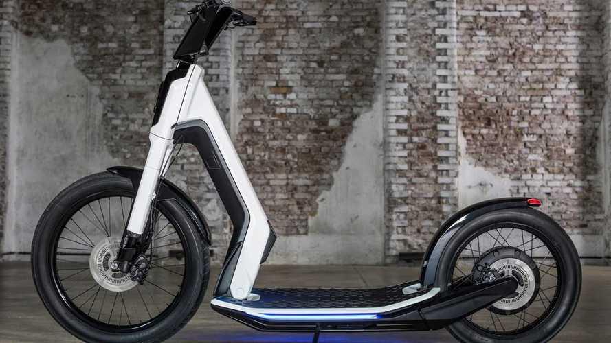Volkswagen'in Streetmate ve Cityskater Adlı Elektrikli Scooter Konseptleri