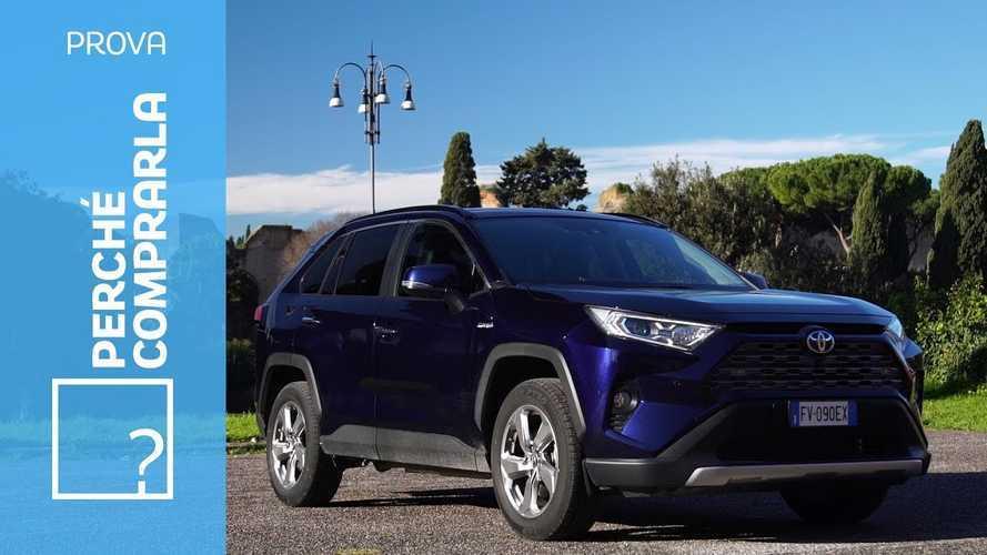 Toyota RAV4, perché comprarla… e perché no
