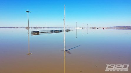 Check Out These Sad Photos Of A Dragstrip Under 14 Feet Of Water