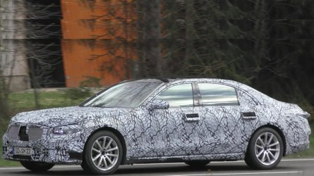 Next-Gen Mercedes-Benz C- and S-Class Sedans Spied In New Videos