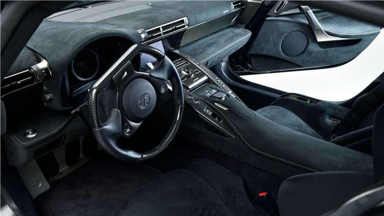 Un Lexus LFA Nürburgring Edition, a la venta