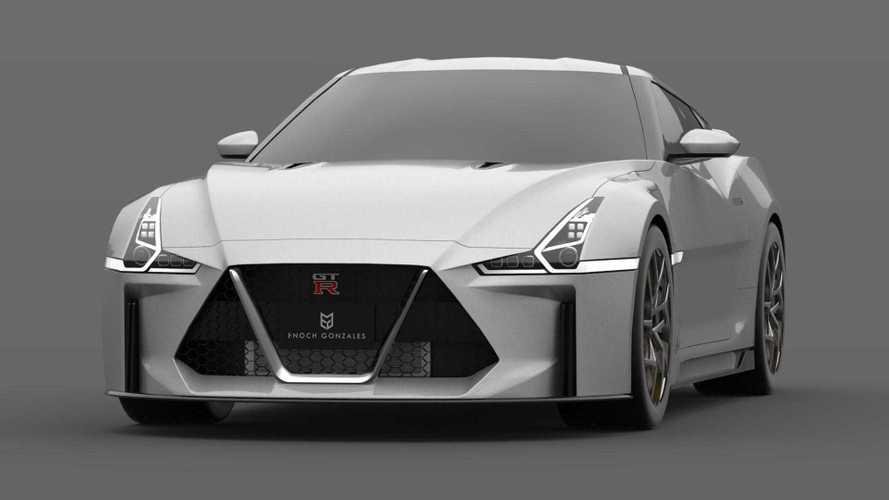 2021 Nissan GT-R Design Render | Motor1.com Photos