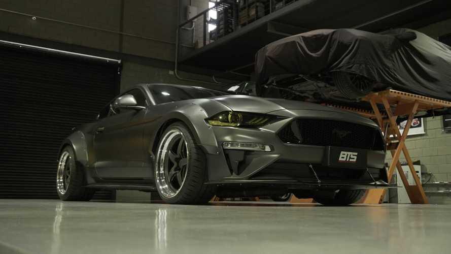 Mustang 1000 BTS: como nasceu o carro mais preparado do Salão de SP