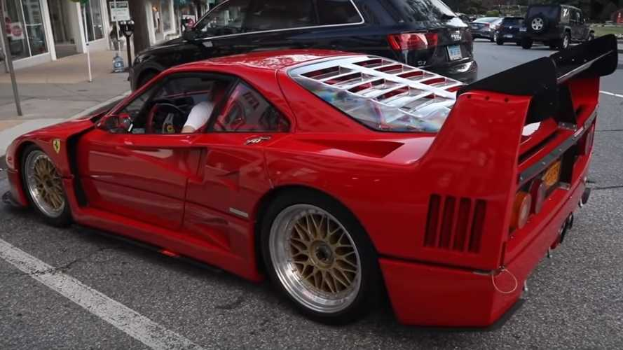 YouTuber spots rare street-parked Ferrari