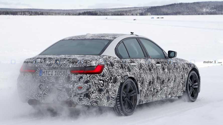 BMW M3 2019: nuevas fotos espía