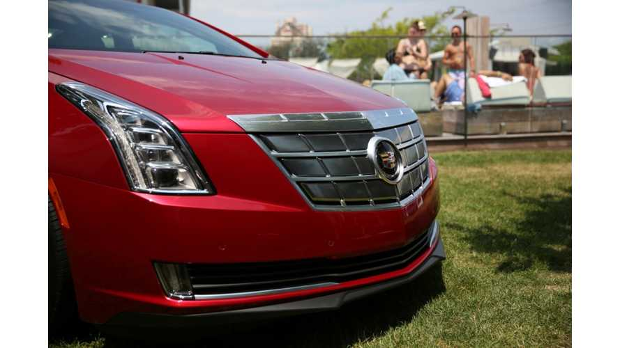 Cadillac ELR Goes Ultrasonic