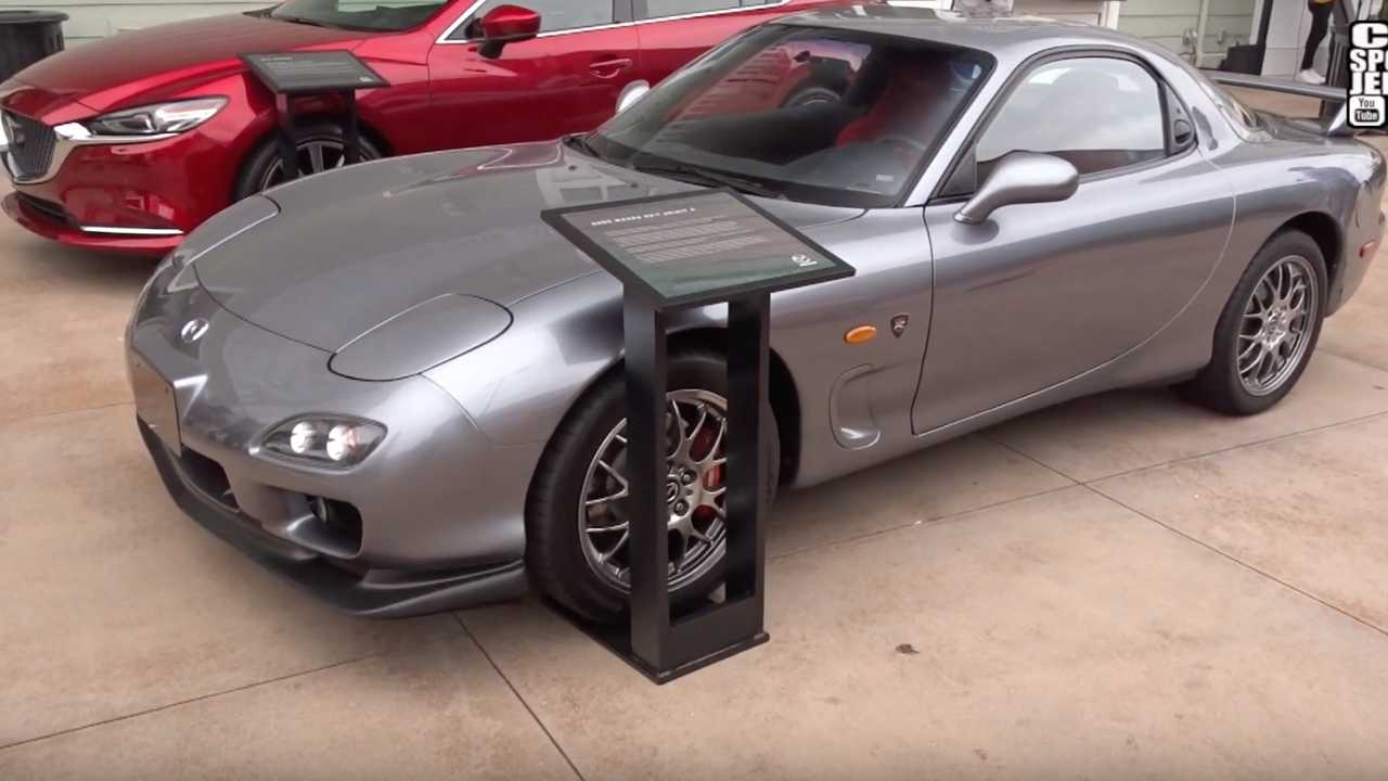 America Has Just One Left Hand Drive Mazda Rx 7 Spirit R