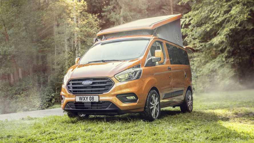 Il Transit Custom Nugget Camper arriva anche in Italia