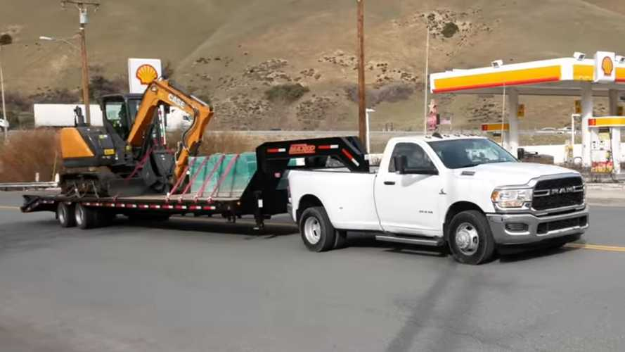 Watch Ram HD Put 1,000 LB-FT To Work By Towing Maximum Load