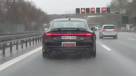Audi RS7 And SQ8 Spied On Video Testing On Snowy Autobahn