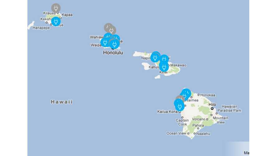 EV Charging Network Stalls Out in Hawaii