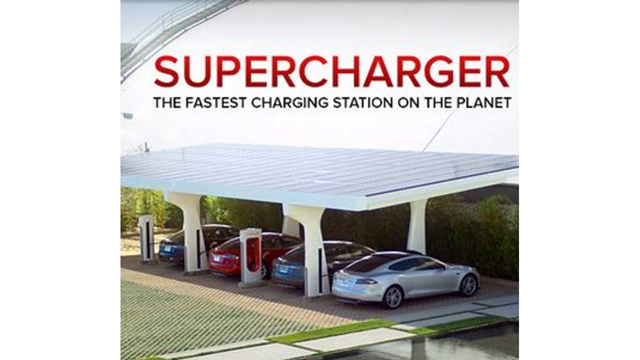 Tesla: 100% of Population in 7 European Countries to be Within Supercharge Range by End of 2014
