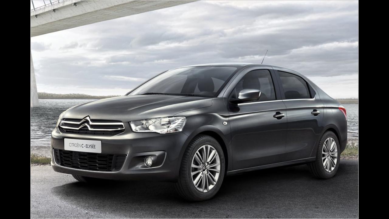 Neue Citroën-Modelle
