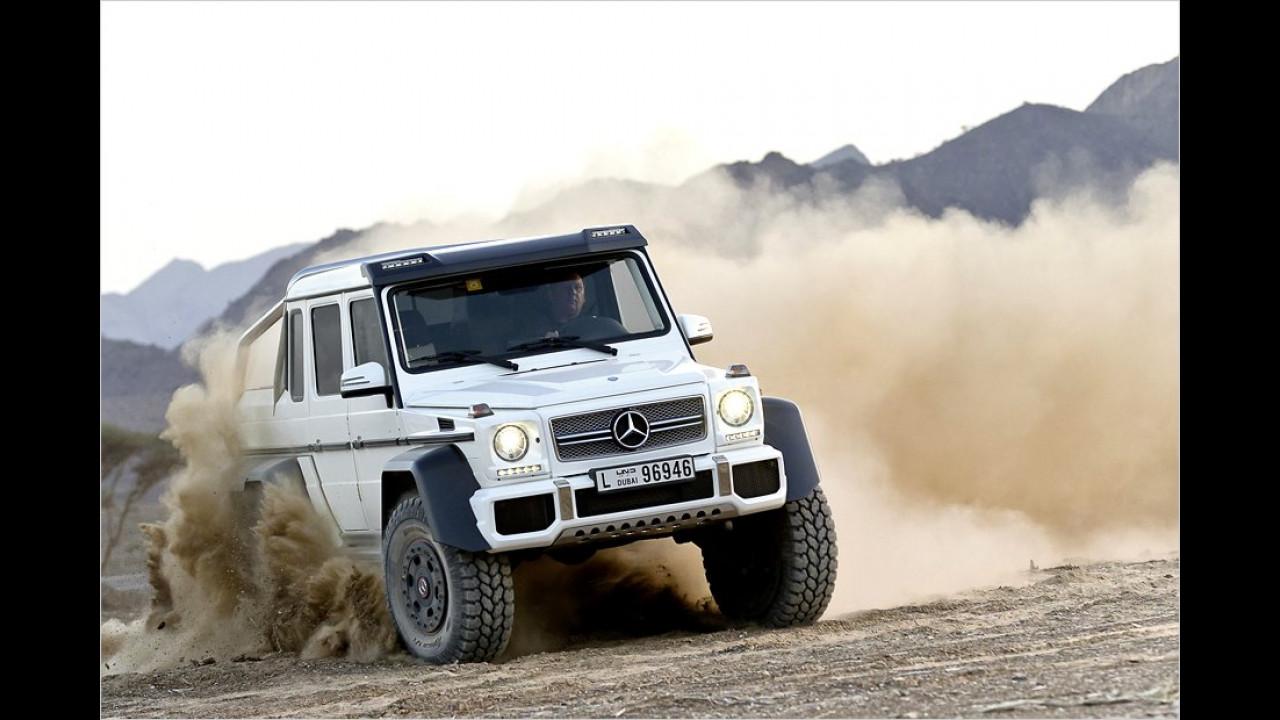 Super-G im Wüstensand