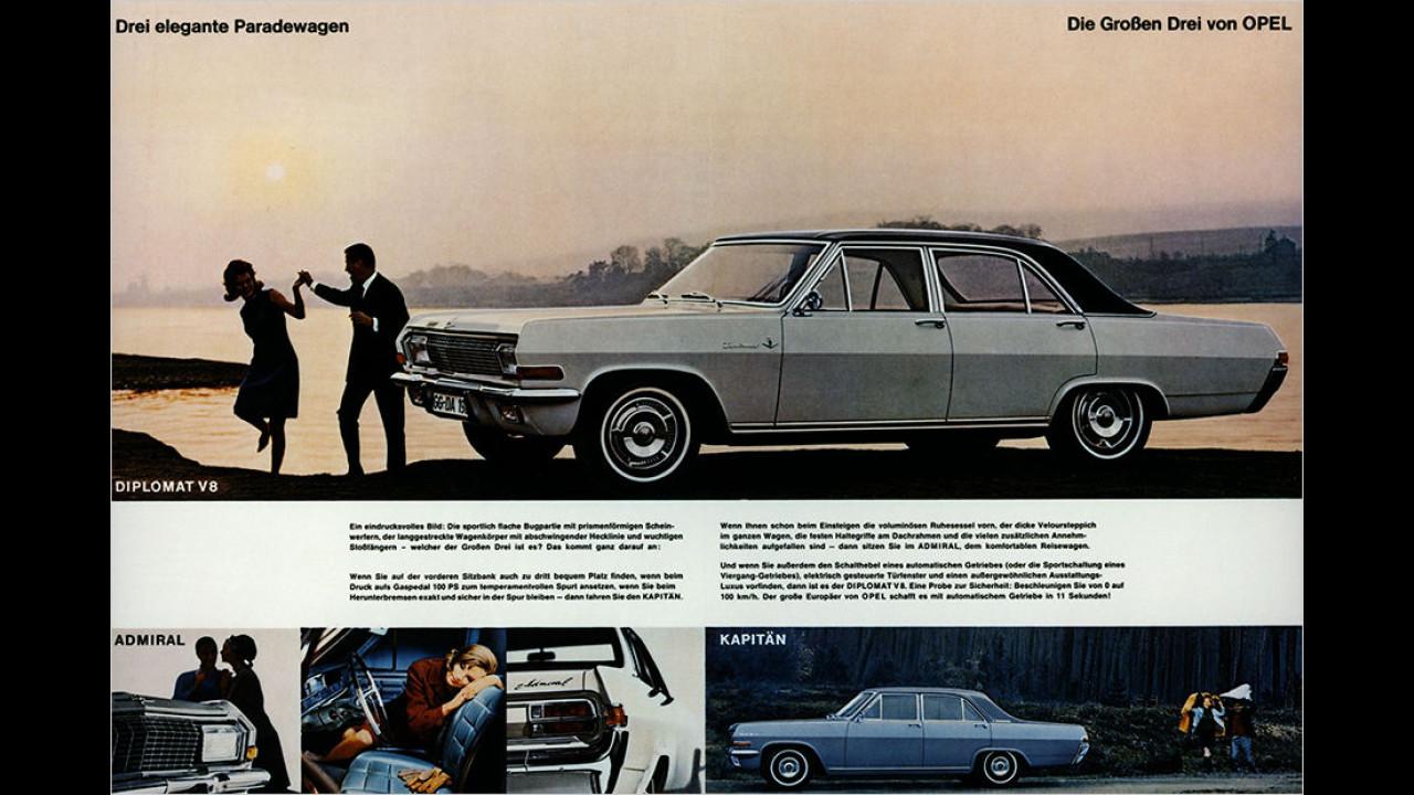 1964: Opel KAD-Reihe