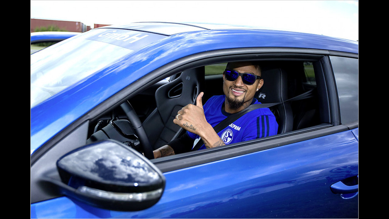 Kevin-Prince Boateng: VW Scirocco R