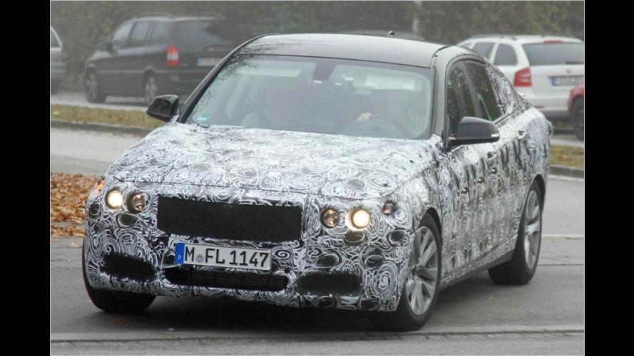 Neue Erlkönig-Einblicke: Ein Flügel für den BMW 3er GT