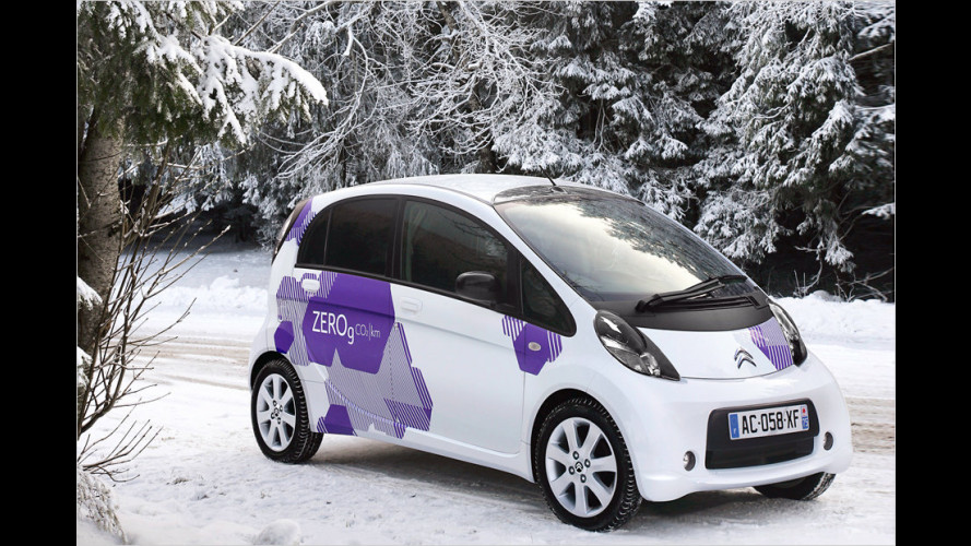 Elektroautos im Winter