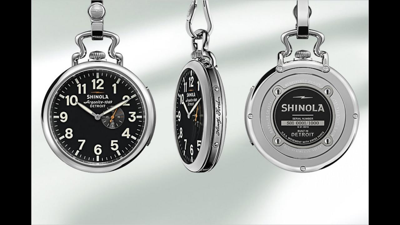 Henry-Ford-Taschenuhr von Shinola