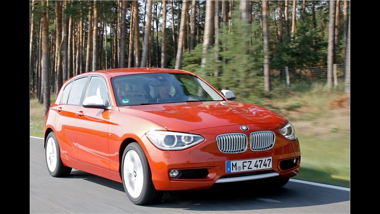 Kompaktklasse, 3. Platz: BMW 1er