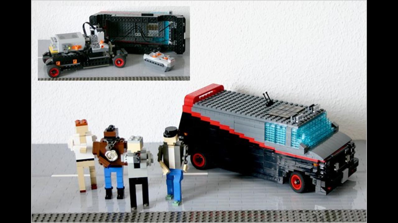 Das A-Team: GMC-Van