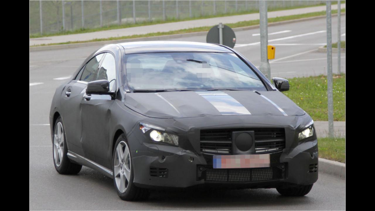 Erwischt: Mercedes CLA