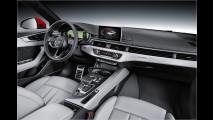 Sitzprobe im Audi A4