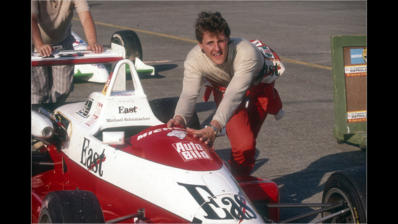 Auch Schumi fuhr VW: Die Formel-3-Zeit