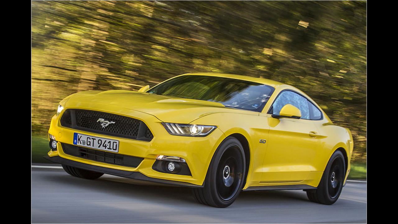 Ford Mustang 5.0 V8 (2016)