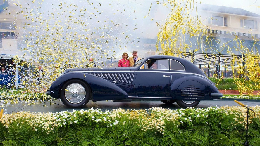 """1938 Alfa Romeo 8C Named """"Best in Show"""" at Pebble Beach Concours d'Elegance"""