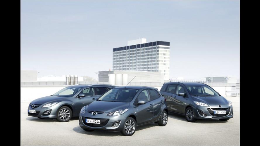 Mazda 2, 5 und 6: Bis zu 2.400 Euro sparen