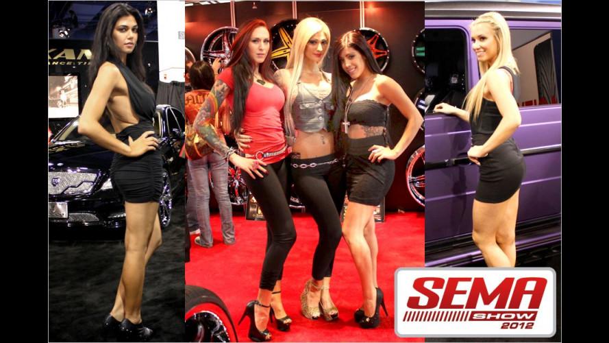 SEMA 2012: Die heißesten Girls