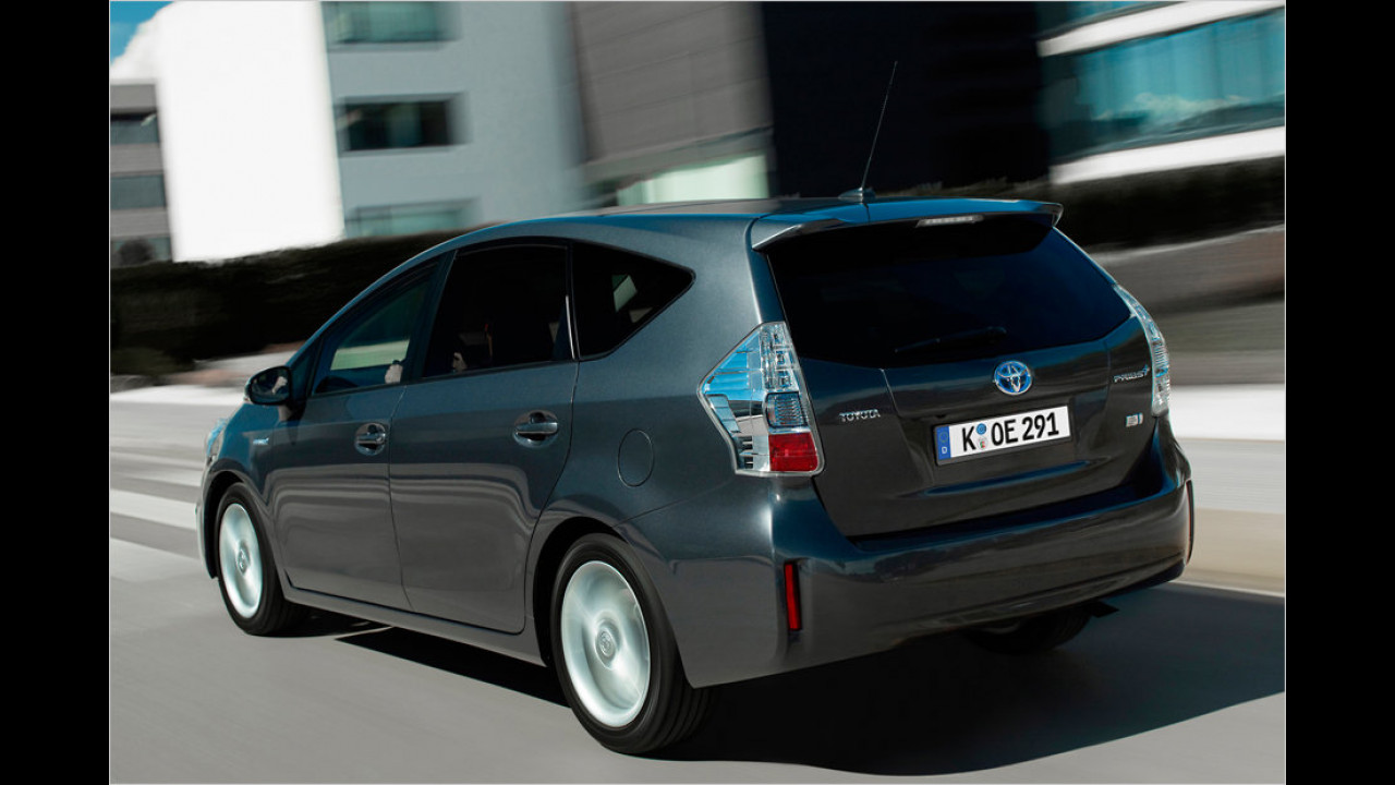 Die besten Familien-Autos, Platz 2: Toyota Prius+ Hybrid, 7,38 Punkte