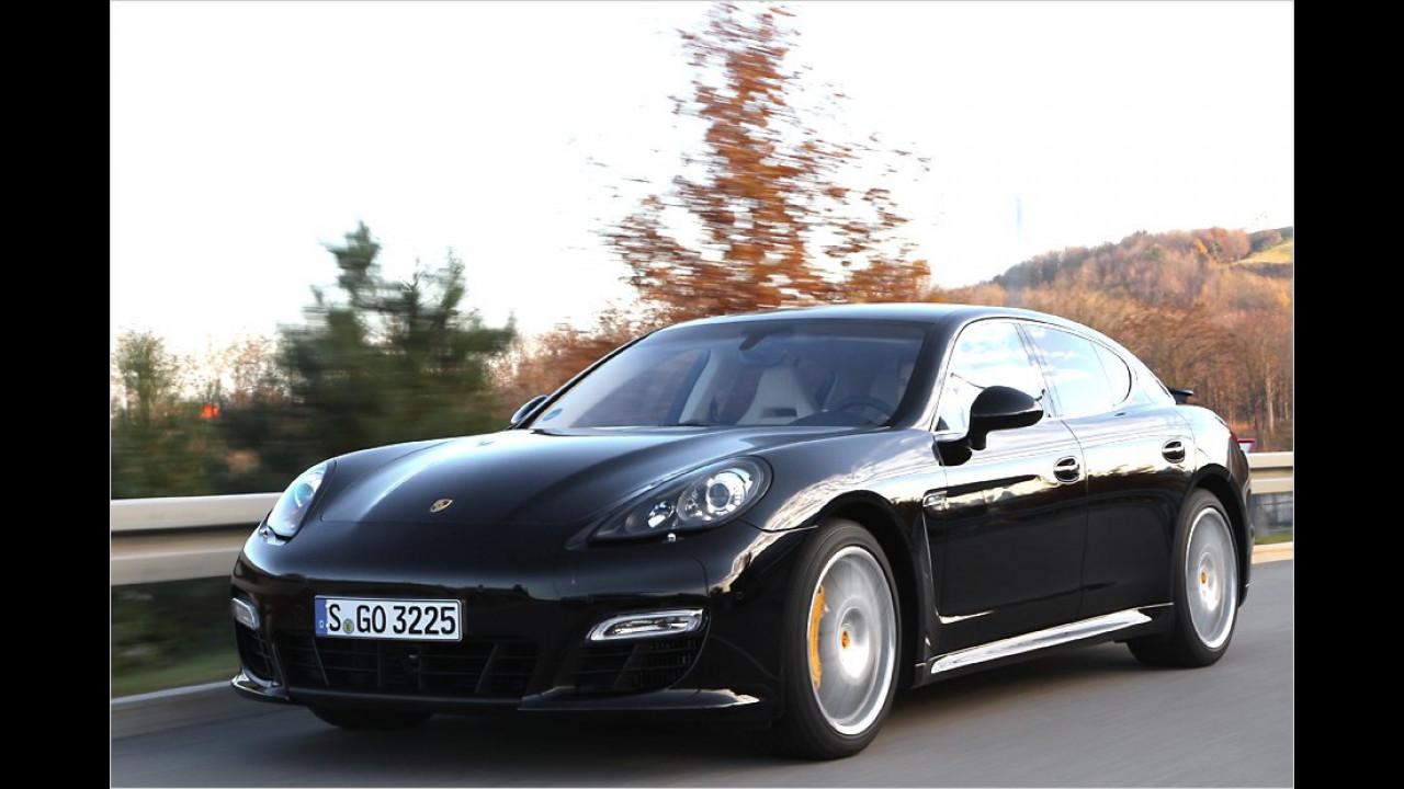 Porsche Panamera Turbo S: 7:52 Minuten (schnellste Oberklasse)