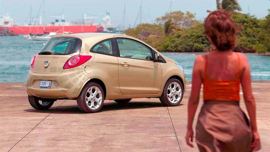 2009 Ford Ka with Bond Girl