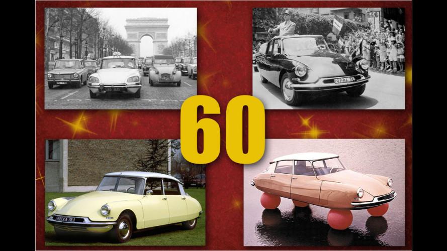 60 Jahre Citroën DS: Die schönsten Bilder