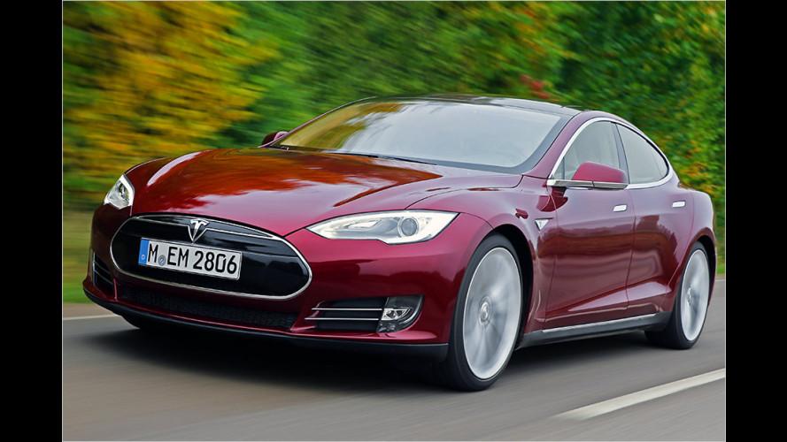 Tesla Model S: Rückruf wegen Gurt-Problemen (2015)