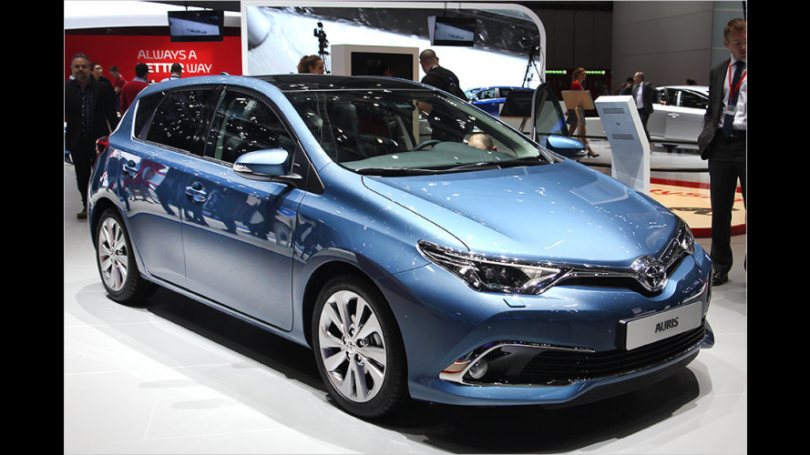 Neue Motoren für Toyota Auris und Avensis