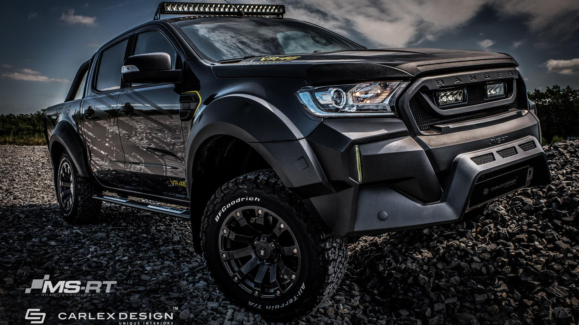 Custom Ford Ranger Can Go Off Road In Style With Posh Interior