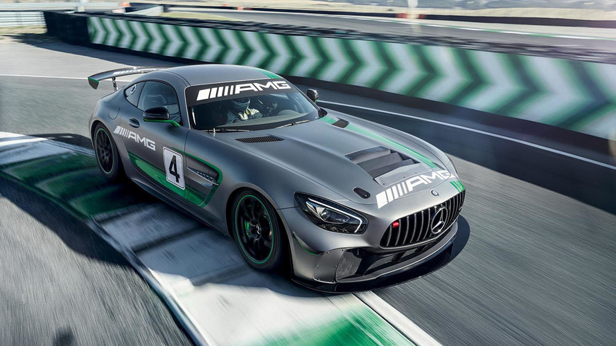Voici la Mercedes-AMG GT4 de course !