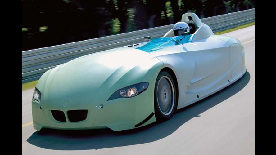 BMW: Wasserstoff treibt Rekordfahrzeug auf 300 km/h