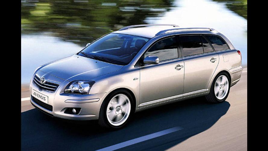 Herausgeputzt: Toyota Avensis mit neuem Dieselmotor