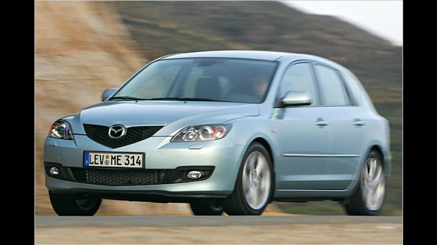 Drei-Klang: Der überarbeitete Mazda 3 im Test