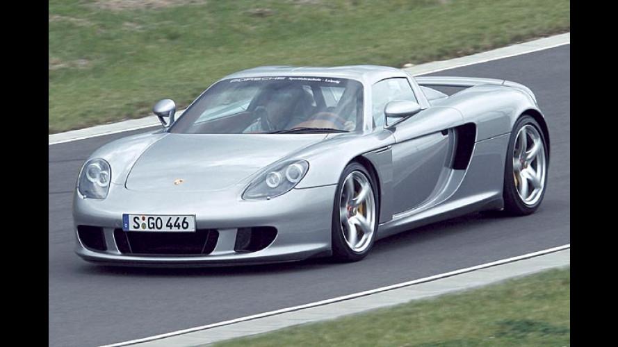 Porsche Carrera GT: Im April ist Schluss mit schnell