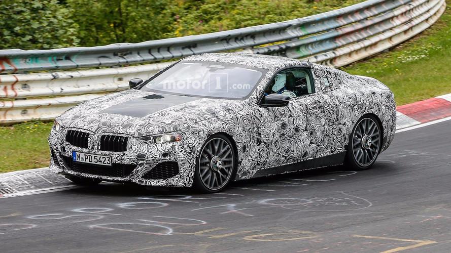 Photos espion - La future BMW Série 8 sur le Nürburgring