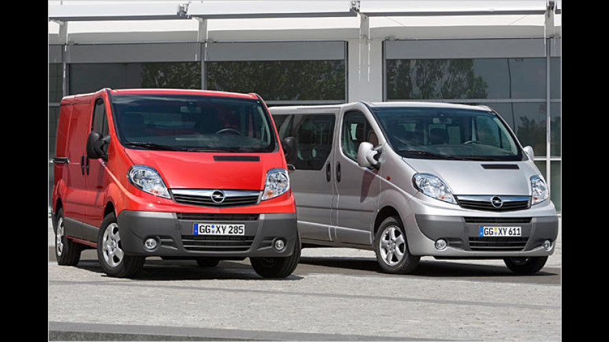 Neuer Transporter aus Rüsselsheim: Vive la Opel Vivaro