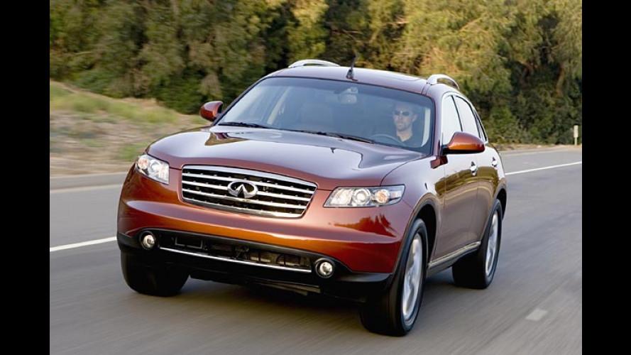 Edel-Nissan: Infiniti soll 2008 nach Europa kommen